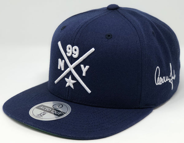 Aaron Judge Compass Hat - Navy Snapback