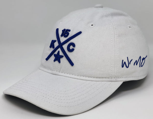Whit Merrifield Compass Hat - White Dad Hat