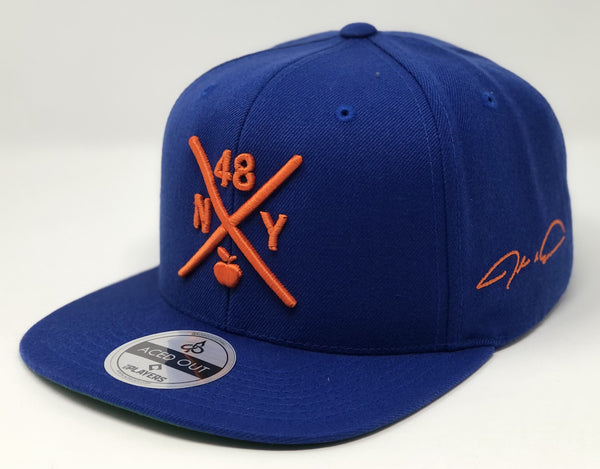 Jacob deGrom Compass Hat -  Royal Snapback