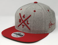 Yadier Molina Compass Hat - Grey/Red Snapback