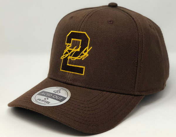 Trent Grisham 2 - Brown Curved Snapback