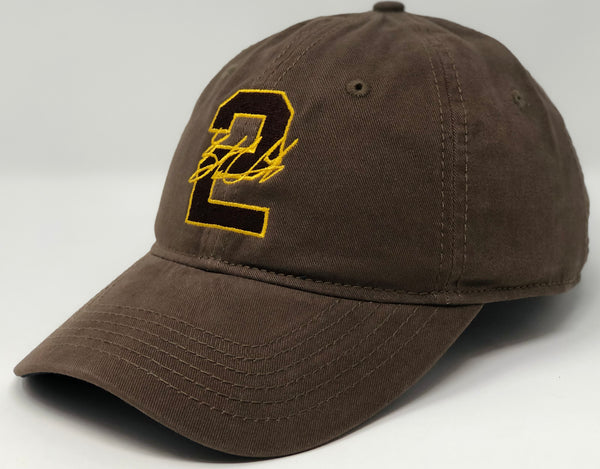 Trent Grisham 2 - Brown Dad Hat