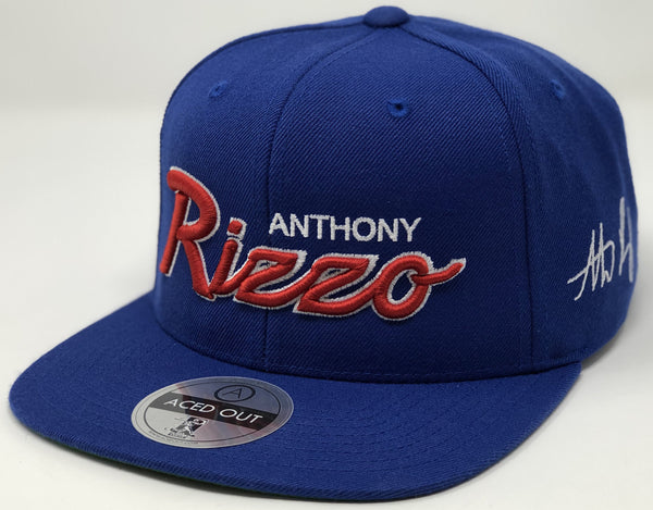 Anthony Rizzo Script Hat - Royal Snapback