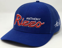 Anthony Rizzo Script Hat - Royal Trucker