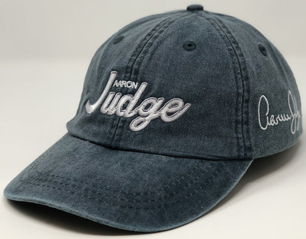Aaron Judge Script Hat - Dad Hat