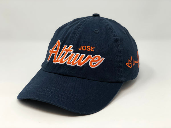 Jose Altuve Script Hat - Dad Hat