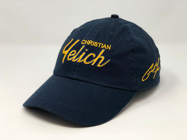 Christian Yelich Script Hat - Dad Hat