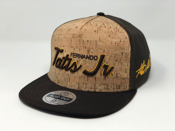 Fernando Tatis Jr Script Hat - Brown Cork Snapback