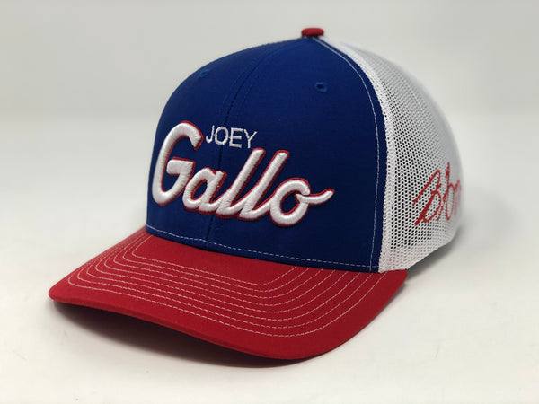 Joey Gallo Script Hat - RWB Trucker