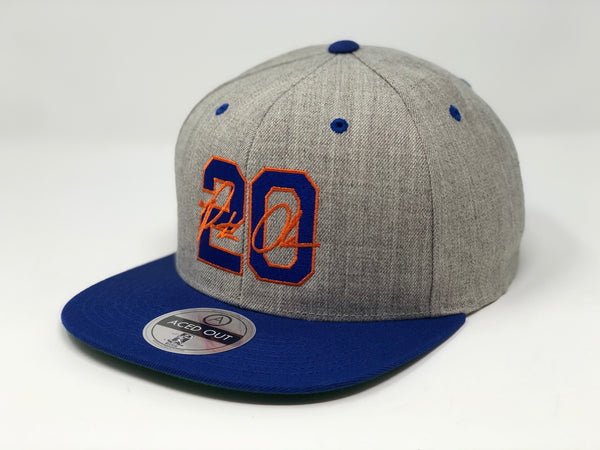 Pete Alonso 20 Hat - Grey/Royal Snapback