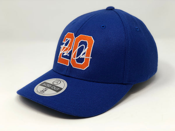 Pete Alonso 20 Hat - Royal Curved Snapback