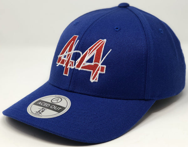 Anthony Rizzo 44 Hat - Royal Curved Snapback