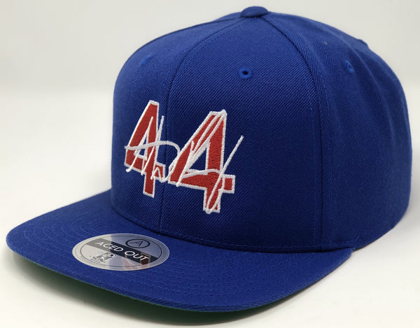 Anthony Rizzo 44 Hat - Royal Snapback