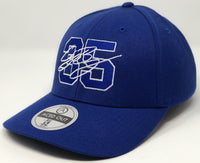 Cody Bellinger 35 Hat - Royal Curved Snapback
