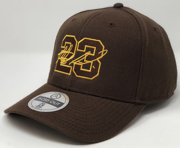 Fernando Tatis Jr 23 - Brown Curved Snapback
