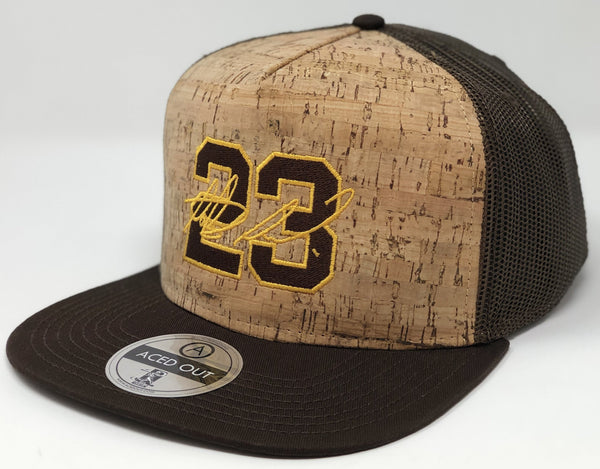 Fernando Tatis Jr 23 Hat - Brown Cork Snapback
