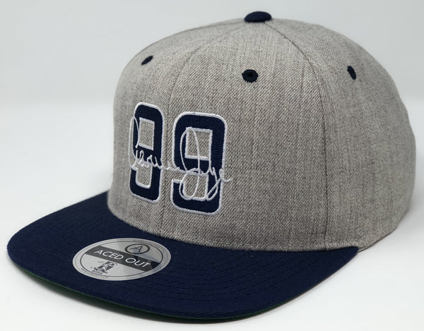 Aaron Judge 99 Hat - Grey/Navy Snapback