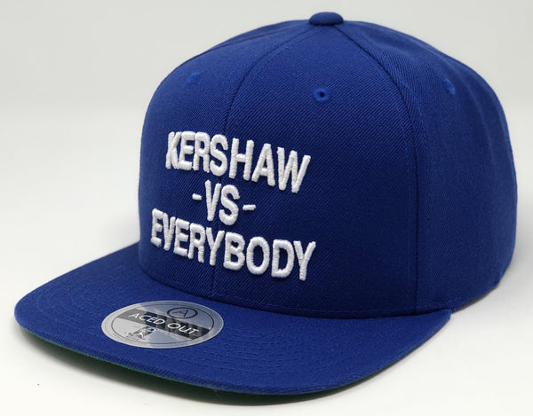 Clayton Kershaw vs EVERYBODY Hat - Royal Snapback
