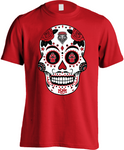 New Mexico Lobos Sugar Skull - Mens