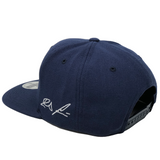 Ronald Acuna Jr Compass Hat - Navy Snapback