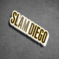 SLAM DIEGO - White Dad Hat