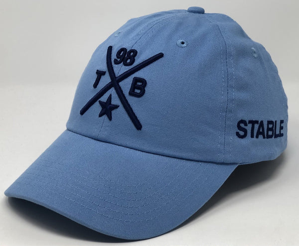 Tampa Bay 98ers Compass Hat - Powder Blue Dad Hat