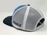 Tampa Bay 98ers Compass Hat - Baby Blue/Navy/White Trucker
