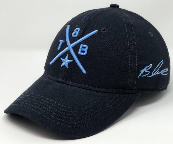 Brandon Lowe Compass Hat - Dark Navy Dad Hat