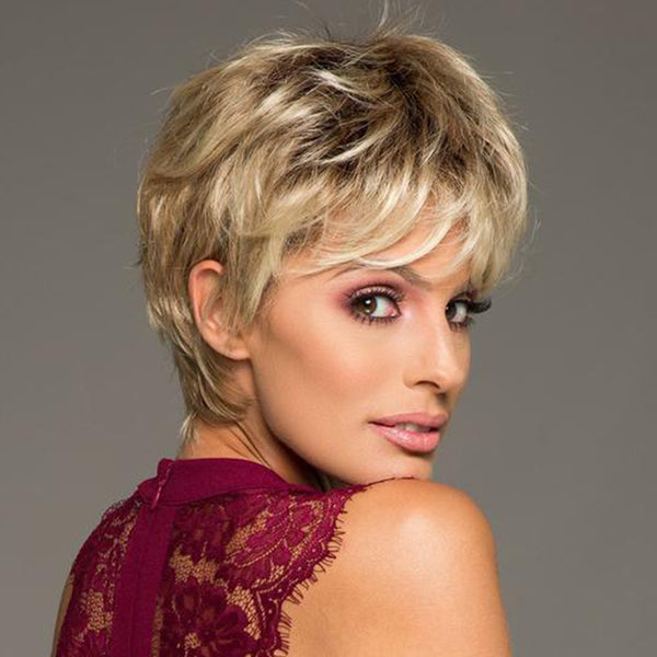 FIFTH ANNIVERSARY-LACE FRONT SHORT WIG (Short Pixie)-003