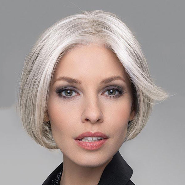 Human Hair/ Synthetic Blend Lace Front Wig (Hand-Tied)-106