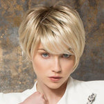 Human Hair/ Synthetic Blend Lace Front Wig (Hand-Tied)-107
