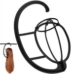 Portable Hanging Wig Stand for All Wigs and Hats