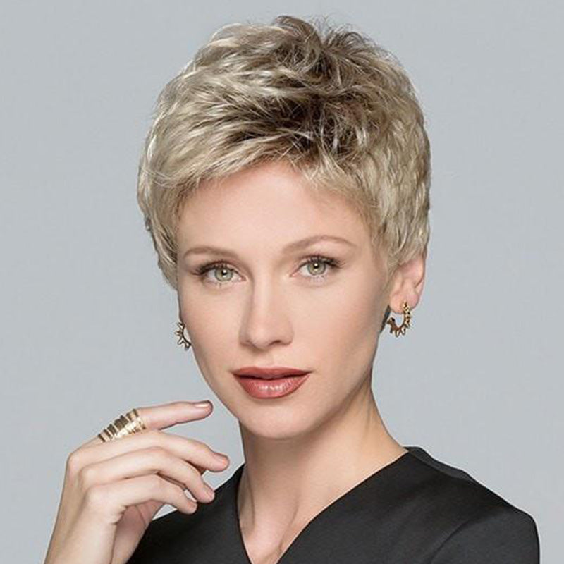 FIFTH ANNIVERSARY-LACE FRONT SHORT WIG (Short Pixie)-002