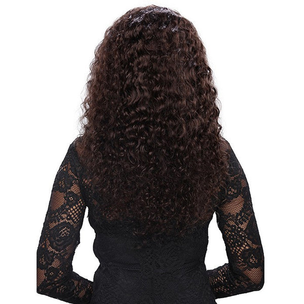 Deep Wave Lace Front Wig-201