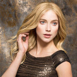 Human Hair/ Synthetic Blend Lace Front Wig (Hand-Tied)-105