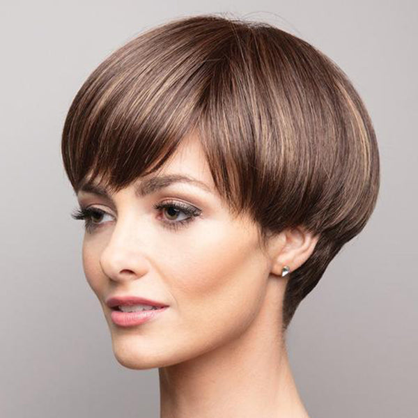 FIFTH ANNIVERSARY-LACE FRONT SHORT WIG (Short Pixie)-013