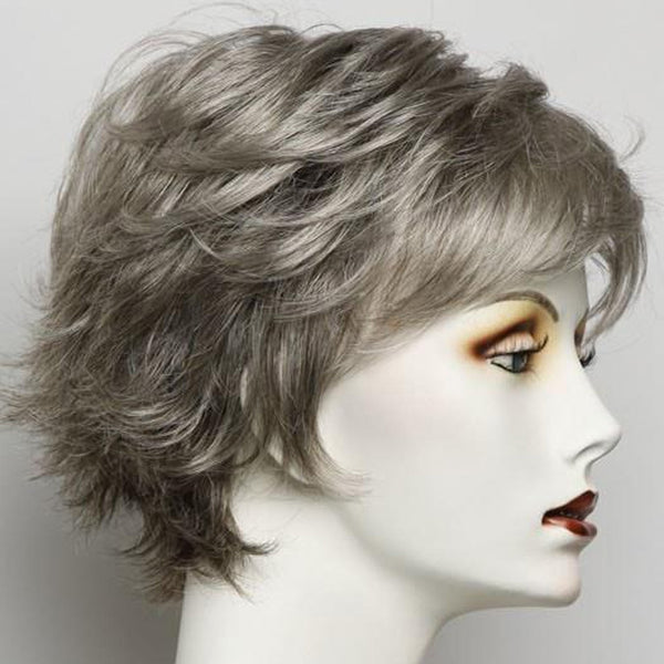 FIFTH ANNIVERSARY-LACE FRONT SHORT WIG-001