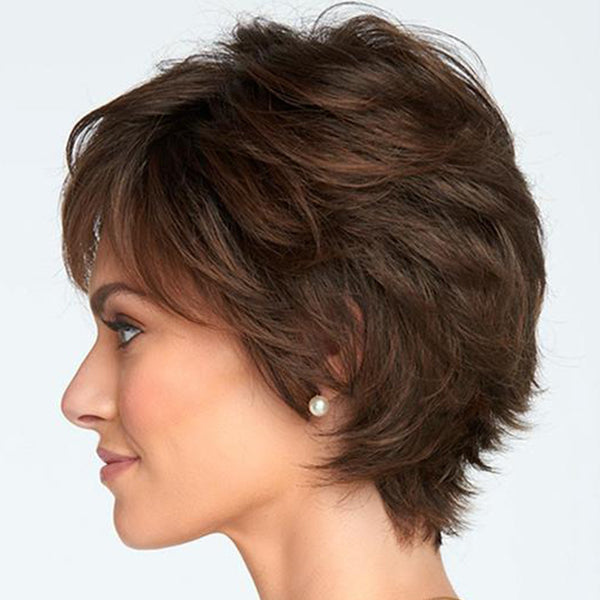 FIFTH ANNIVERSARY-LACE FRONT SHORT COOL WIG-004