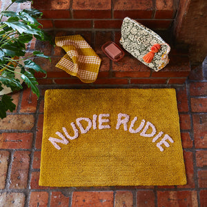 Tula Nudie Rudie Bath Mat - Pear