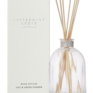 Peppermint Grove Diffuser - Lily & Lotus Flower