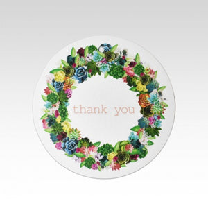 Wreath Thank You - Gift Tag
