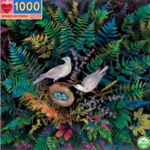 Birds In Fern Puzzle
