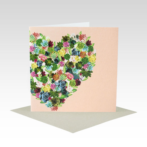 Succulent Heart - Gift Card