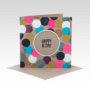 Happy Birthday Spotty - Gift Card