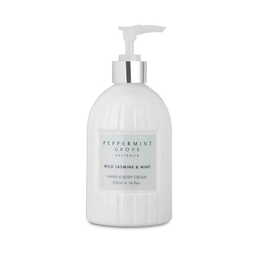 Peppermint Grove Hand and Body Cream - Wild Jasmine and Mint
