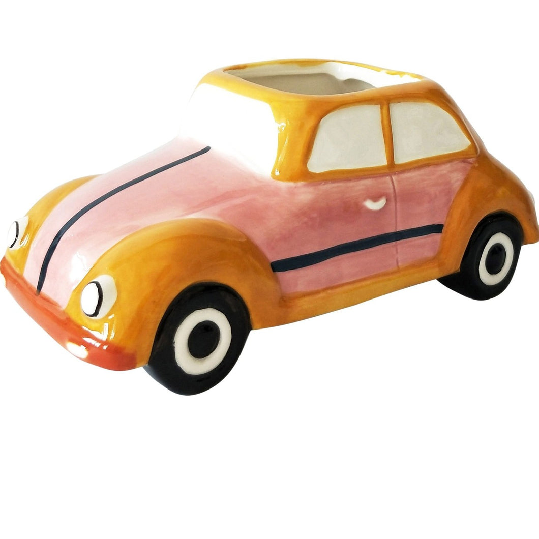Retro Bug Planter