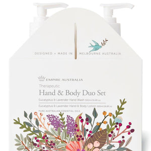 Lavender and Eucalyptus Hand Care Duo