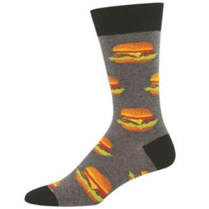 Mens Good Burger Socks