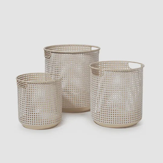 Baha Weave Pot - Natural