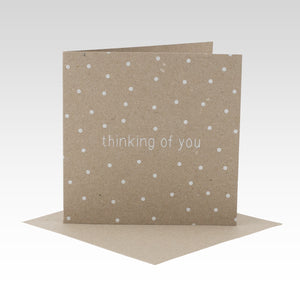 Polkadot Thinking of You - Card